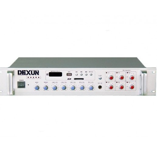 DEXUN PA 2525 Trafolu Anfili Mikser USB /MP3 Player