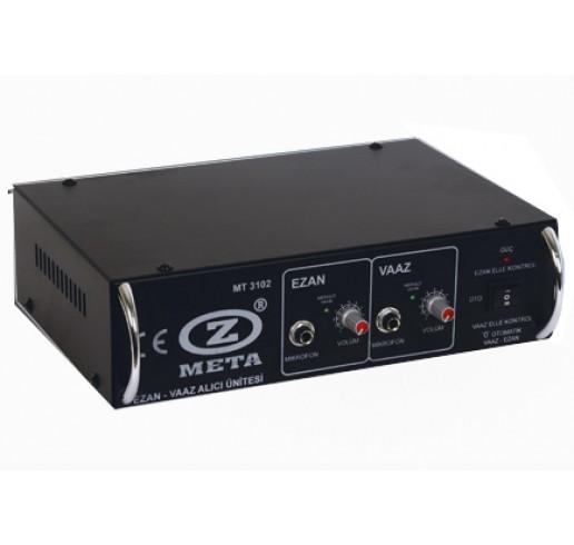 WEST SOUND MT 3102 D ( FKS ) VHF-UHF Ezan ve Vaaz Telsiz Alıcı Ünitesi